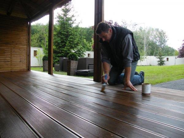 Fa terasz építése, karbantartása