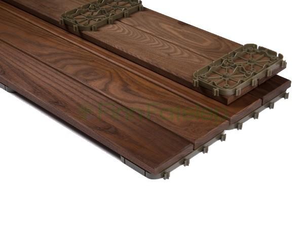 Quick Deck® – Thermowood Klikkes Teraszburkolatok