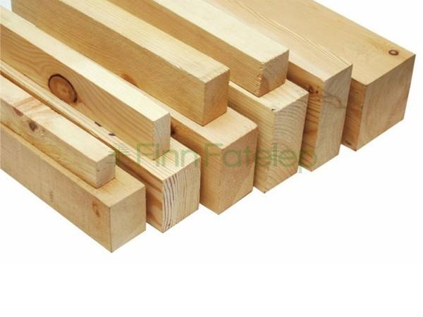 Építő minőségű fenyő fűrészáru